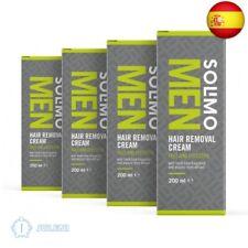 Marca - Solimo - MEN - Crema depilatoria para hombre  (Hombre, Lima & Menta)