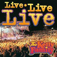 THE KELLY FAMILY - LIVE LIVE LIVE  2 CD NEU