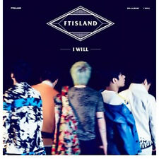 FT ISLAND - [I WILL] 5th Album CD+64p Booklet+1p Photo Card K-POP Sealed