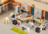 Office Furnishing, faller Kit H0 (1:87), Item 180454