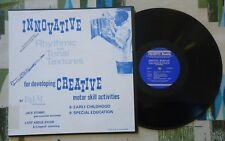 Bilal Abdurahman LP Innovative Rhythmic & Tonal Textures 1976 Folkways VG+/M-