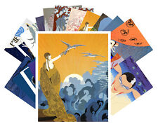 24 Postkarten Set * Erte Deco Magazine Retro Plakat Vintage CC1019