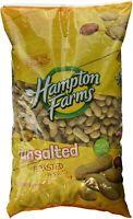 Hampton Farms Peanuts Unsalted In Shell Roasted 80 oz 5 lbs bird squirrel feed