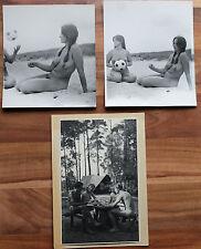 3 Stk.original Fotos FKK, Nude, Erotik 60iger Jahre