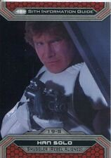 Star Wars Chrome Perspectives II Refractor Parallel Base Card 19-S Han Solo