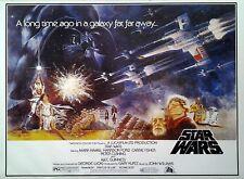 Filmposter USA 68x98: Star Wars: Krieg der Sterne: QF [1977]
