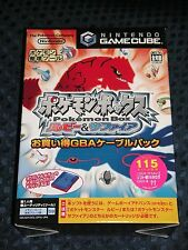 NEW GC Pokemon BOX Ruby & Sapphire Limited w/ GBA cable & Memory Card 59 JAPAN