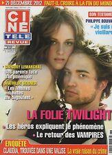 CINE REVUE (belge) 2009 N°46 gregory lemarchal kristen stewart  twilight