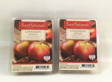 ScentSationals_Scented Wax Melts/Cubes_Cinnamon Apples_2 pack (6 cubes/pack)_New