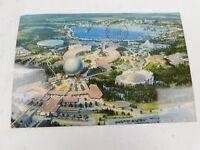 "4"" X 6"" Postcard: Future World - Walt Disney World Epcot Center Florida Feb 1982"