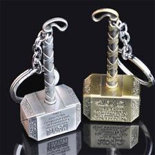 Marvel The Avengers Thor Hammer Metal Keychain Key Chain Keyring Gift Present