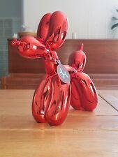 Dog Balloon red, statue en résine. Jeff Koons (after)