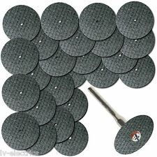 25 en fibre de verre renforcé coupé roue disque pour Dremel Multi Outil artisan