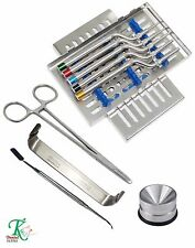 Osteotomes TK Dentaire APPROVISIONNEMENT Professionnel dentaire Implants Kit