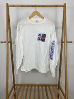 VTG 80s Diet Pepsi Cola The Unbeatables Promo Long Sleeve T-Shirt Size L USA