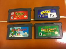 Gameboy Advance games Crash Bandicoot 2 N-Tranced, Frogger's Adventures + 2 GBA