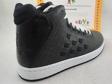 Nike Jordan Illusion, Black On Black, Leather, Nike Dunk Sole, Size 9