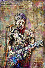 Noel Gallagher Of Oasis 20x30in Poster, Noel of Oasis Tribute Art Free Shipping