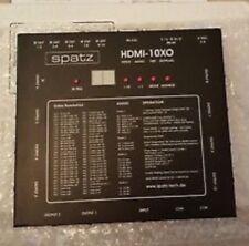 Spatz 10XO 10x HDMI Splitter, Verteiler, EDID Manager