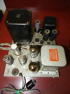 Heathkit W3-M Williamson Tube Power Amplifier, Dual 6L6 Output Acrosound TO-300