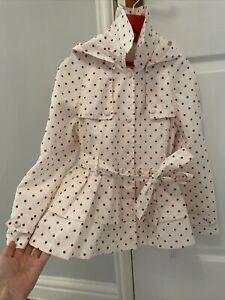 Monnalisa Rain Coat Age 8 Girl's Rain Mac