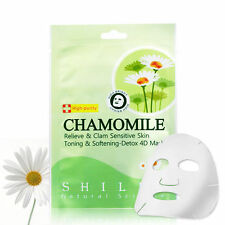[SHILLS] Charifying Hydra-Detox CHAMOMILE Soothing Facial Mask 5pcs NEW