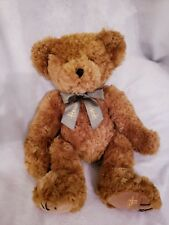 "Harrods Teddy Bear Large 20"" Tall Euc"