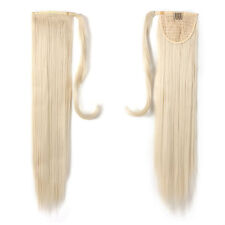 "OneDor 24"" Straight Wrap Around Synthetic Hair Ponytail Extension for Women"