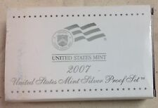 2007 US MINT SILVER PROOF SET - Complete w/ Original Box and COA
