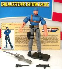 GI JOE ~ 2002 SHIPWRECK SAILOR ~ 100% COMPLETE with FILE CARD 1984
