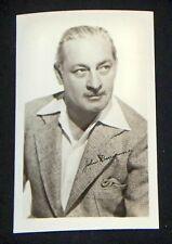 John Barrymore 1940's 1950's Actor's Penny Arcade Photo Card