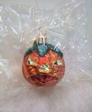 Radko Ornament Grin 'N' Grimace Gem 01-0792-0 Halloween Pumpkin Nib/Sealed (R31)
