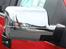2004-2008 Ford F150 Chrome Mirror Covers Inserts Pair Brand New