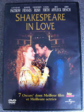GWYNETH PALTROW Joseph Fiennes Shakespeare In Love 1999 oscar-vincitore DVD