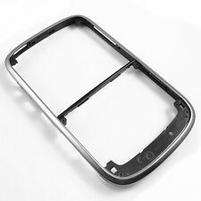 10PCS Silver Chrome Front Housing Faceplate Frame Bezel For BlackBerry Bold 9000