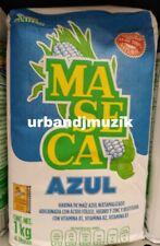 MASECA AZUL HARINA DE MAIZ / BLUE CORN FLOUR - 2.2 LBS BAG - FREE PRIORITY SHIP