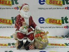 Royal Doulton Santa On Bench With Bag Of Toys 1216/2000