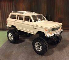 1981 Jeep Wagoneer Lifted 4x4 Custom 1:64 Diecast  Truck Farm Off Road Mud Trail