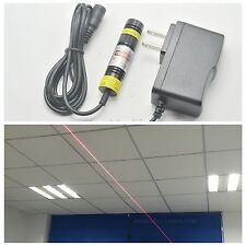 648nm 650nm 200mW Red Laser Line Module Mitsubishi Diode 16mmX68mm w/ AC Adapter