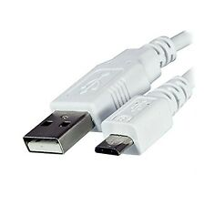 Replacement White USB Charger Charging Data Sync Cable Lead For Amazon Kindle...