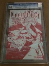 Lady Death Warrior Temptress #1 Leather CGC9.8 Highest Graded