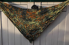 German Army FLECKTARN CAMOUFLAGE Scarf Military Surplus Field Camo