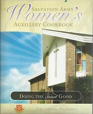 * ORLANDO FL 2008 SALVATION ARMY WOMEN'S AUXILIARY COOK BOOK * FLORIDA COMMUNITY