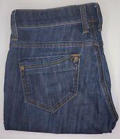Mavi Jeans - Molly Straight Mid Rise - Dark Wash - Women's - sz 28 x 36