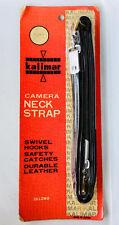 vintage unused neck strap still in packaging for old camera, kalimar japan