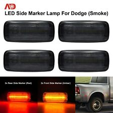 Smoke Lens LED Side Marker Lamp Bed Light For 2010-2018 Dodge Ram 2500/3500HD