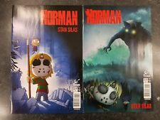 Norman 1 Cover A and Cover B NM Stan Silas Titan Comics