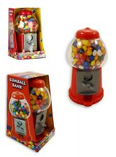 MINI GUMBALL DISPENSER Macchina Giocattolo con BUBBLE GUM Party Bag MEDAGLIA opreated * NUOVA