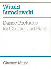 Witold Lutoslawski: Dance Preludes (Original Version 1954) by Chester Music (Paperback, 1989)