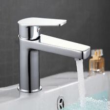 AS Bathroom Waterfall Vanity Vessel Basin Sink Faucet  Mixer Tap Deck Mount